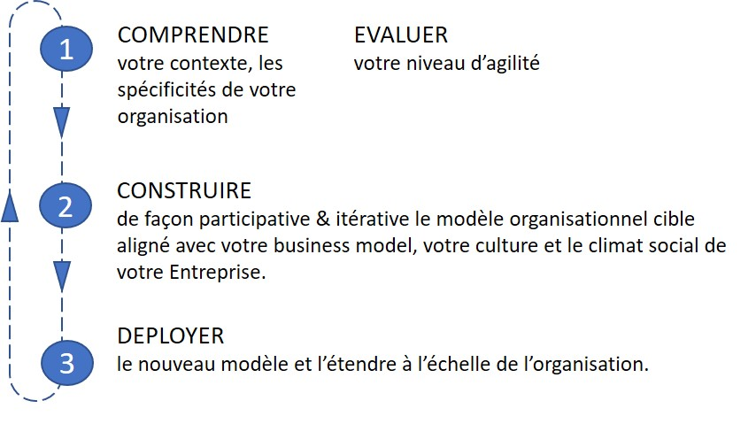 organisation agile, Organisation : aller vers plus d'agilité