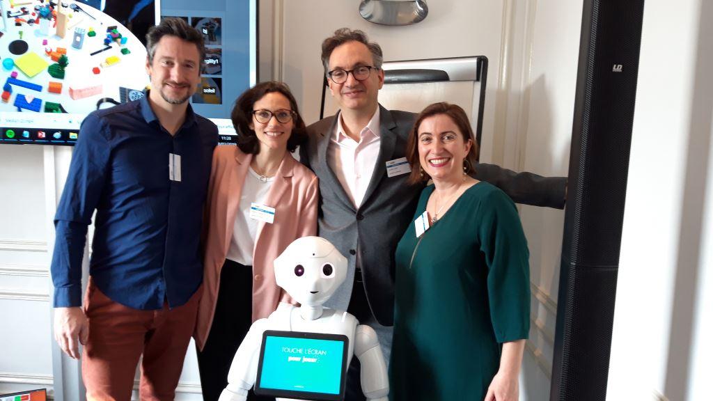 U Spring Atelier prospective robotique