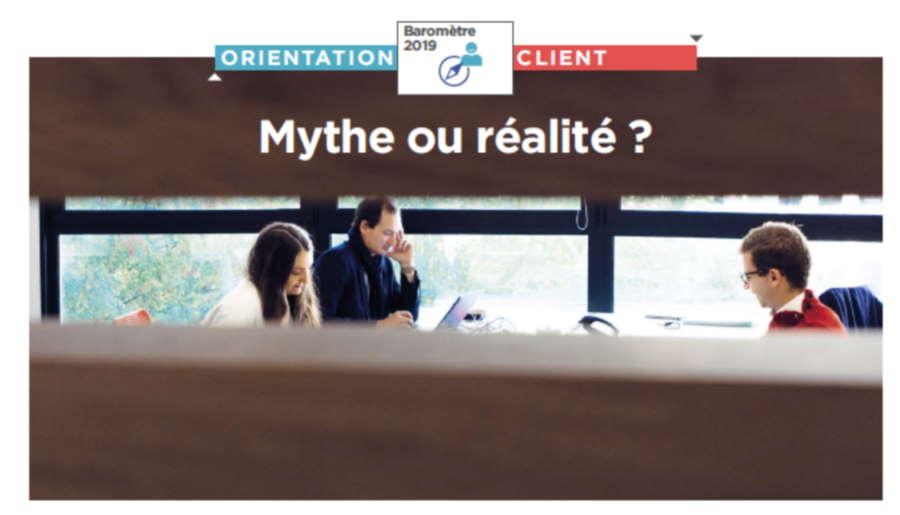 Orientation client : où en est votre entreprise, selon vos collaborateurs ?