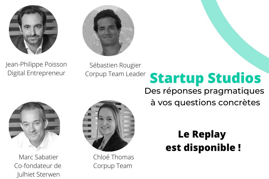 Replay | Startup Studios, vos questions, nos réponses