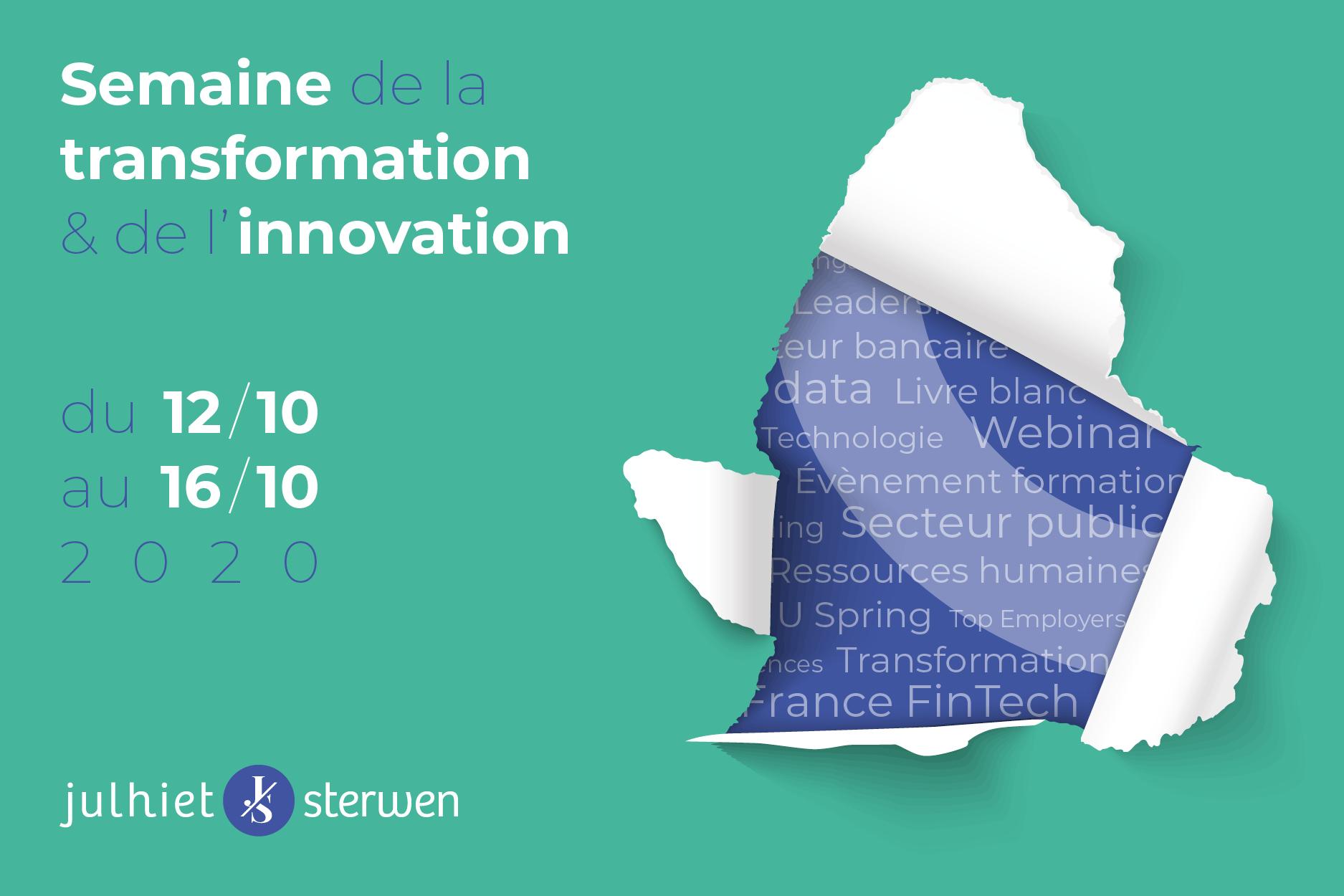 semaine transformation innovation