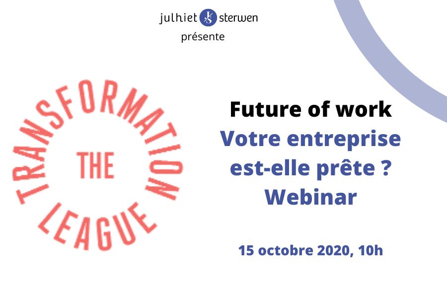 Future of work : votre entreprise est-elle prête ?
