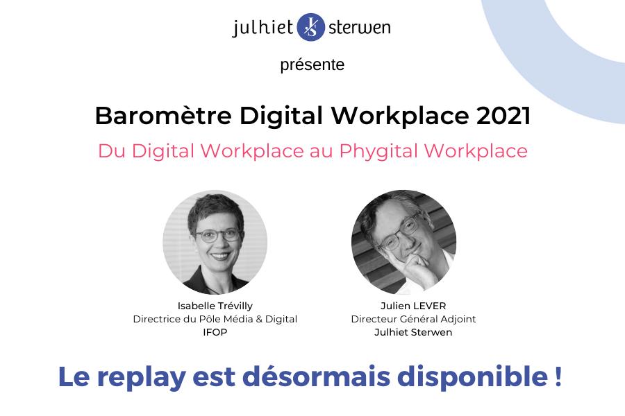 baromètre digital workplace 2021